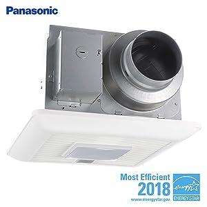 Panasonic FV-0511VQL1 WhisperCeiling DC fan with LED light