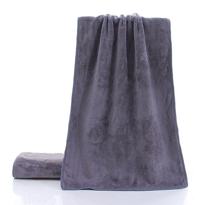 Toallas Microfiber Toallas Deportivas Super Soft Sanding Yoga Health Toallas, DarkGray-30*110: Amazon.es: Ropa y accesorios