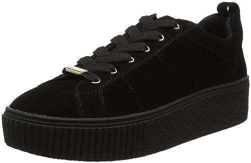 Aliotta, Zapatillas de Entrenamiento para Mujer, Negro (Black Suede), 37 EU Aldo