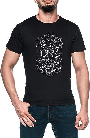 56 Anni Compleanno Regalo Uomo Donne Not Old Im Classic 1964 Maglia a Manica
