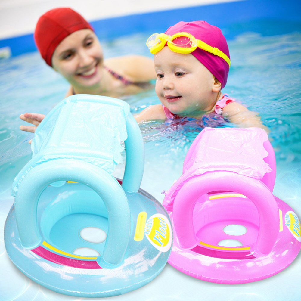 Product details of new inflatable floating swim ring kids children toy - Amazon Com Rainbowkids Baby Pool Float Toy Infant Ring Toddler Inflatable Ring Baby Float Swim Ring Sit In Pool 1 Pcs Blue And Red For 6 48 Months Baby