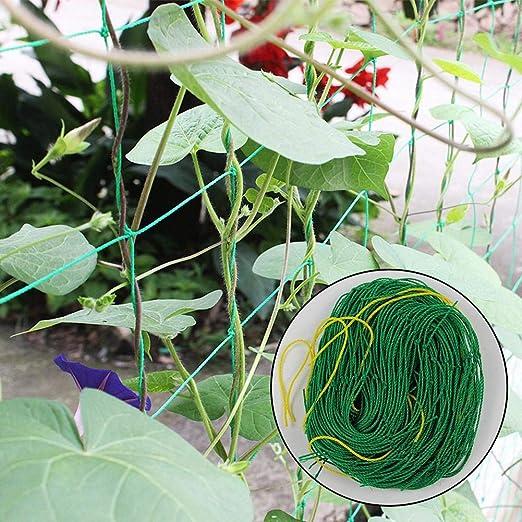 Malla de enrejado de nylon, duradera planta de enredadera de ...