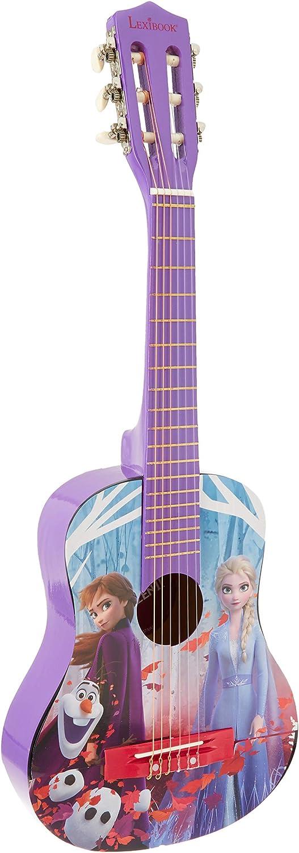 Frozen - Guitarra clásica Disney, instrumento niña (Lexibook K2000FZ)