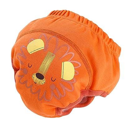 Pantalones de entrenamiento de tocador para bebés de León