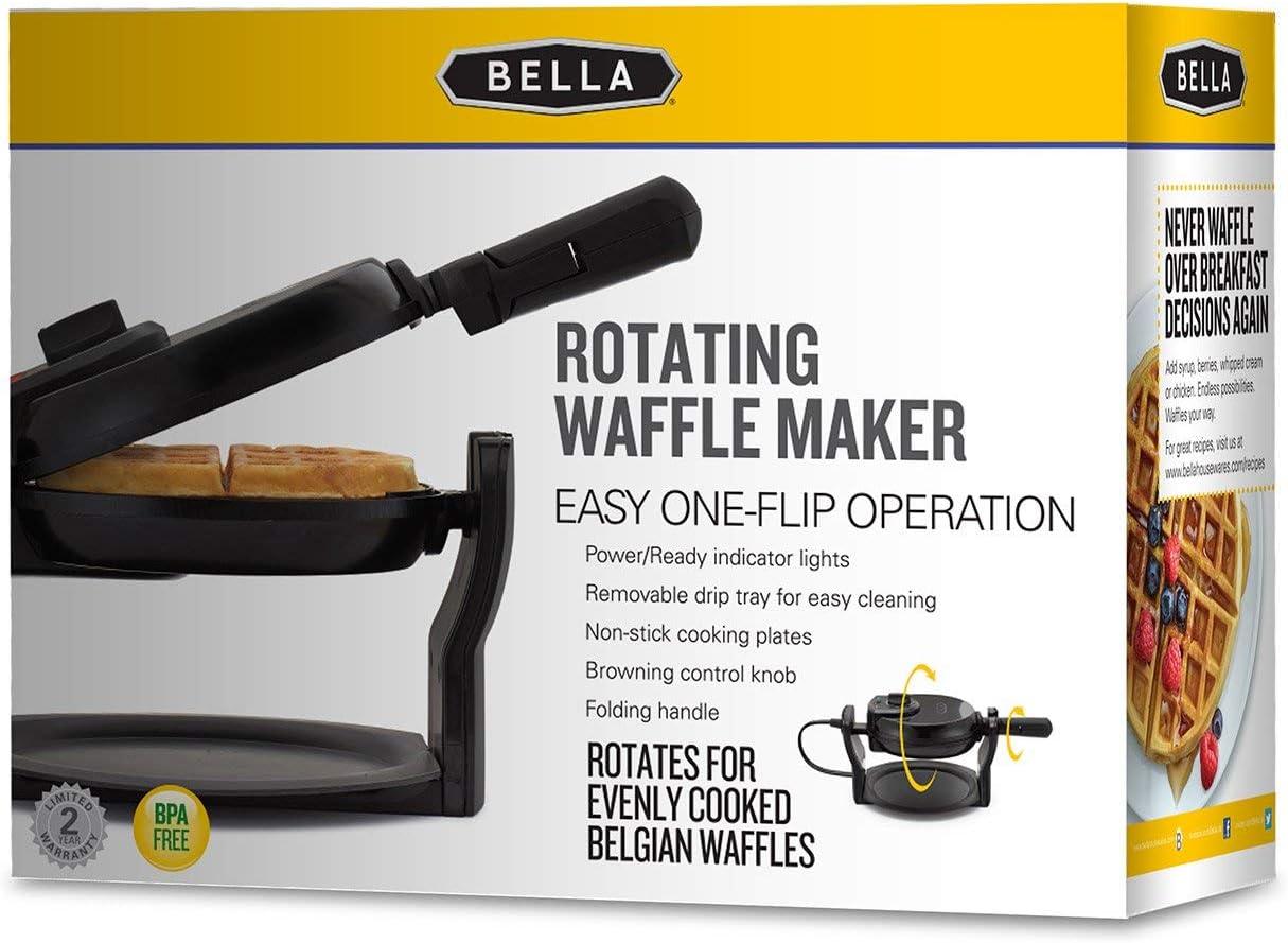 Kitchen & Dining Waffle Irons alpha-ene.co.jp BELLA 13991 Renewed ...