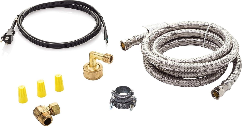 Superior Brands Braided Dishwasher Connector Installation Kit