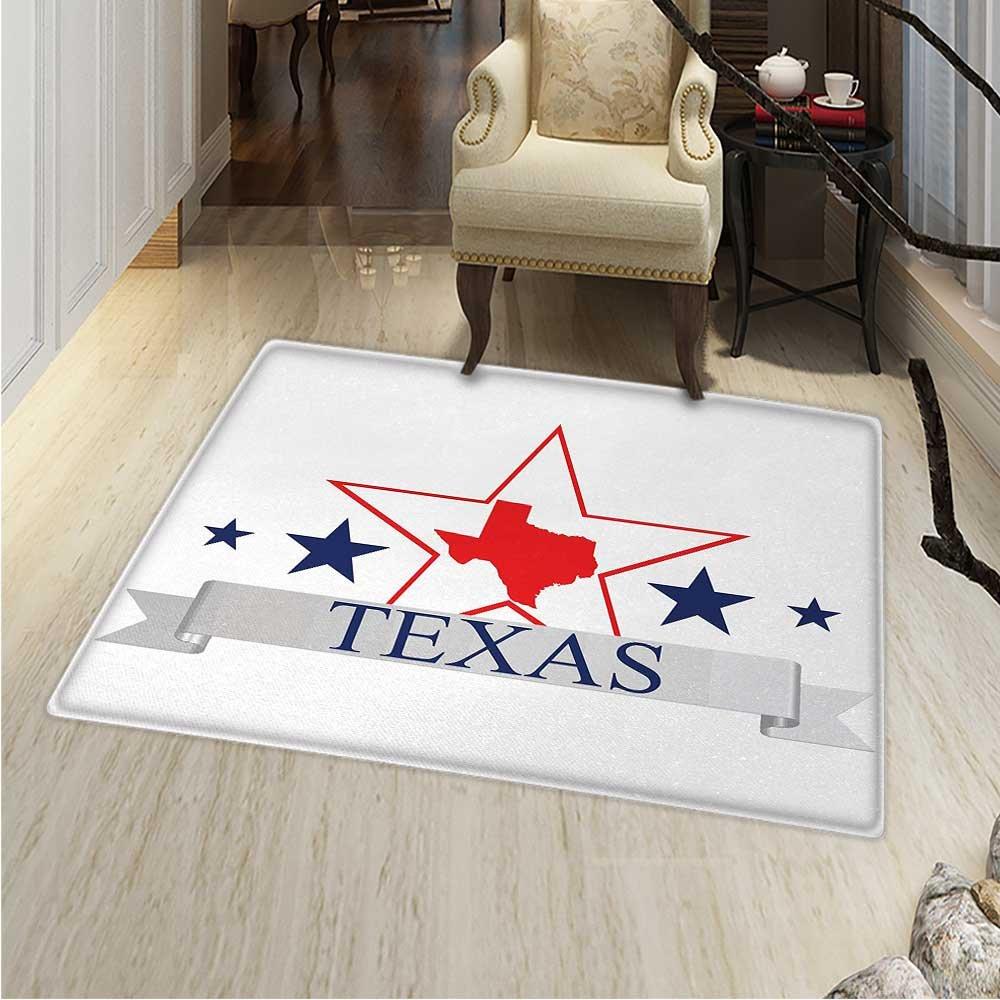 Amazon Com Texas Star Anti Skid Area Rug San Antonio Dallas Houston