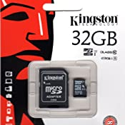 Professional Kingston 16GB MicroSDHC Samsung SM-G920PZDASPR with custom formatting and Standard SD Adapter! 32Mbps // Class 4