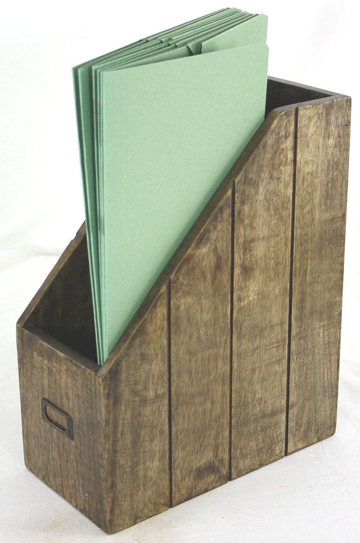 Uncategorized Wooden File Holders polished solid natural wooden shelf file paper holder or magazine rack amazon co uk diy tools