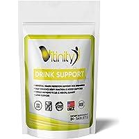 Anti Alcohol Drink Support Supplement - Craving Support,Liver Health,Reduce Alcohol Intake Formula - Kudzu,Milk Thistle…