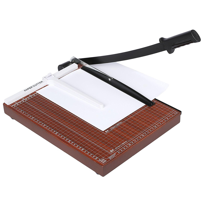 neudas Accurate 12-Sheet Capacity A3-B7 Paper Cutter Guillotine Trimmer Machine