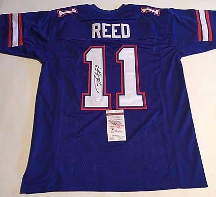 the best attitude fe4cd 47155 Jordan Reed Autographed Signed Florida Gators Blue Jersey ...