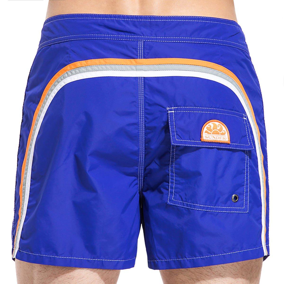 SUNDEK m502bdta100 Niedrig Rise 14 477 True Blau Board-Short Beachwear