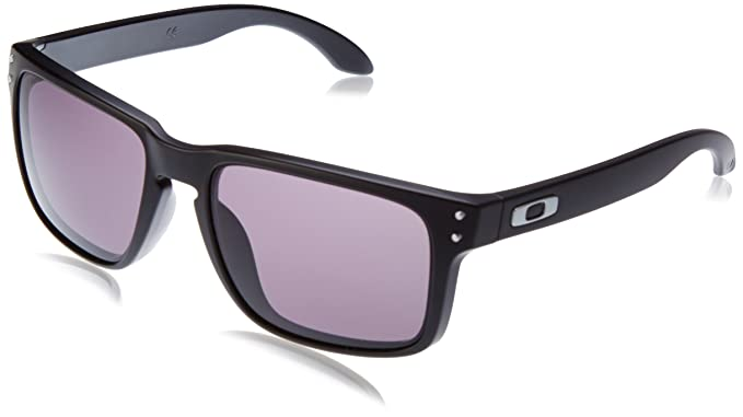 80c72c12b3 OAKLEY HOLBROOK Sonnenbrille matte black warm grey  Amazon.it  Scarpe e  borse