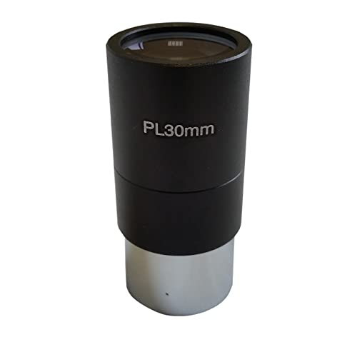 "Ostara Telescope Plossl High Resolution 30mm Eyepiece - Fully Coated - Wide Field of View - Standard 1.25"" (31.77mm) Fitting - Supplied with Storage Case and Cleaning Cloth."