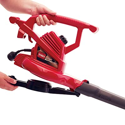 Toro 51619 Ultra Electric Blower Vac, 250 mph, Red (Renewed)