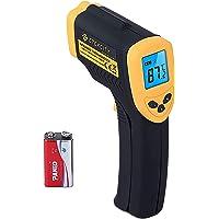 Etekcity Digital Laser Infraröd Termometer -50 Till +550 °C, IR Pyrometer Beröringsfri Temperaturmätare Temperaturkniv…