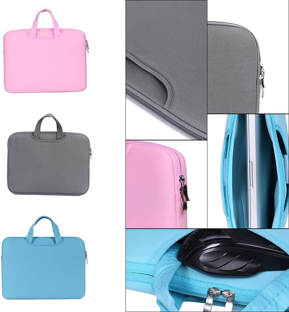 Artboy Soft Sleeve Bag Case Briefcase Handlebag Pouch Compatible with MacBook Pro Retina 15-15.6 Ultrabook Laptop Notebook Portable
