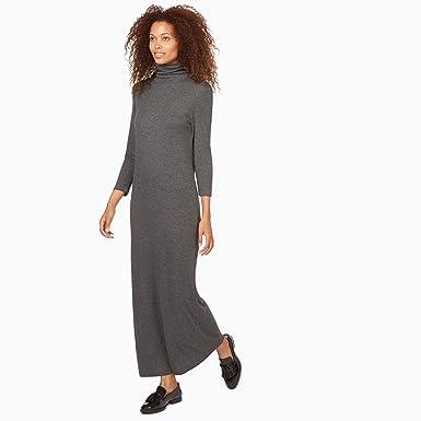 42e416c1ae9 MONOPRIX FEMME - Robe tube à manches longues en jersey - Femme - Taille   40
