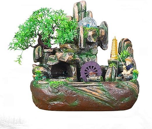 Embalaje Seguro Fuente de Agua Feng Shui Craft Humidificador de ...