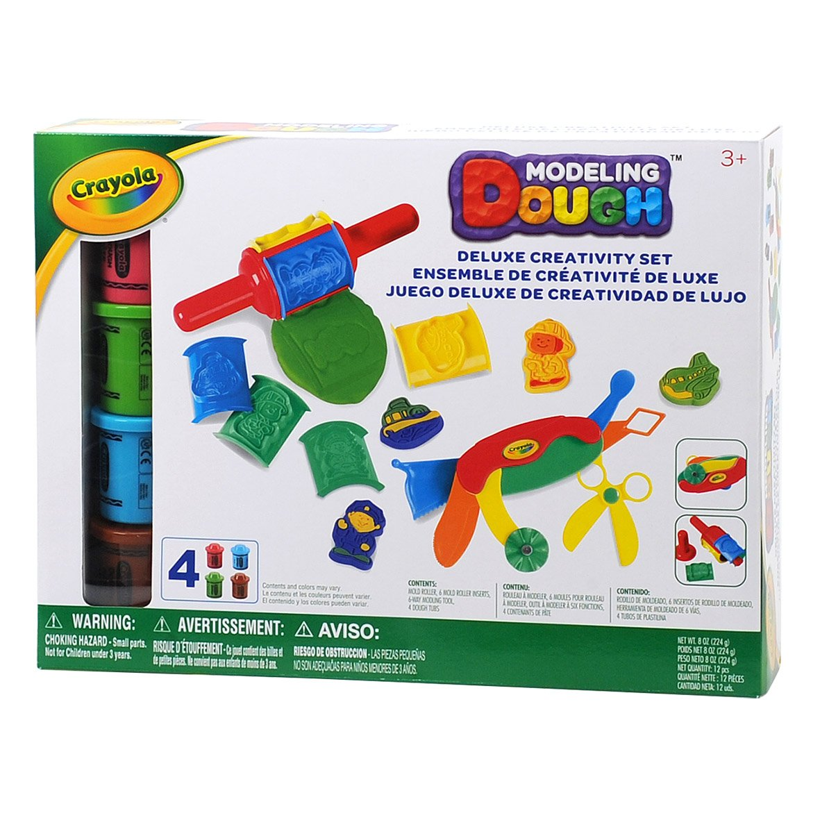 Crayola Modeling Dough Deluxe Creativity Set 12 pieces