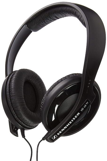 Sennheiser HD 65 TV - Auriculares de diadema cerrados (control remoto) color negro