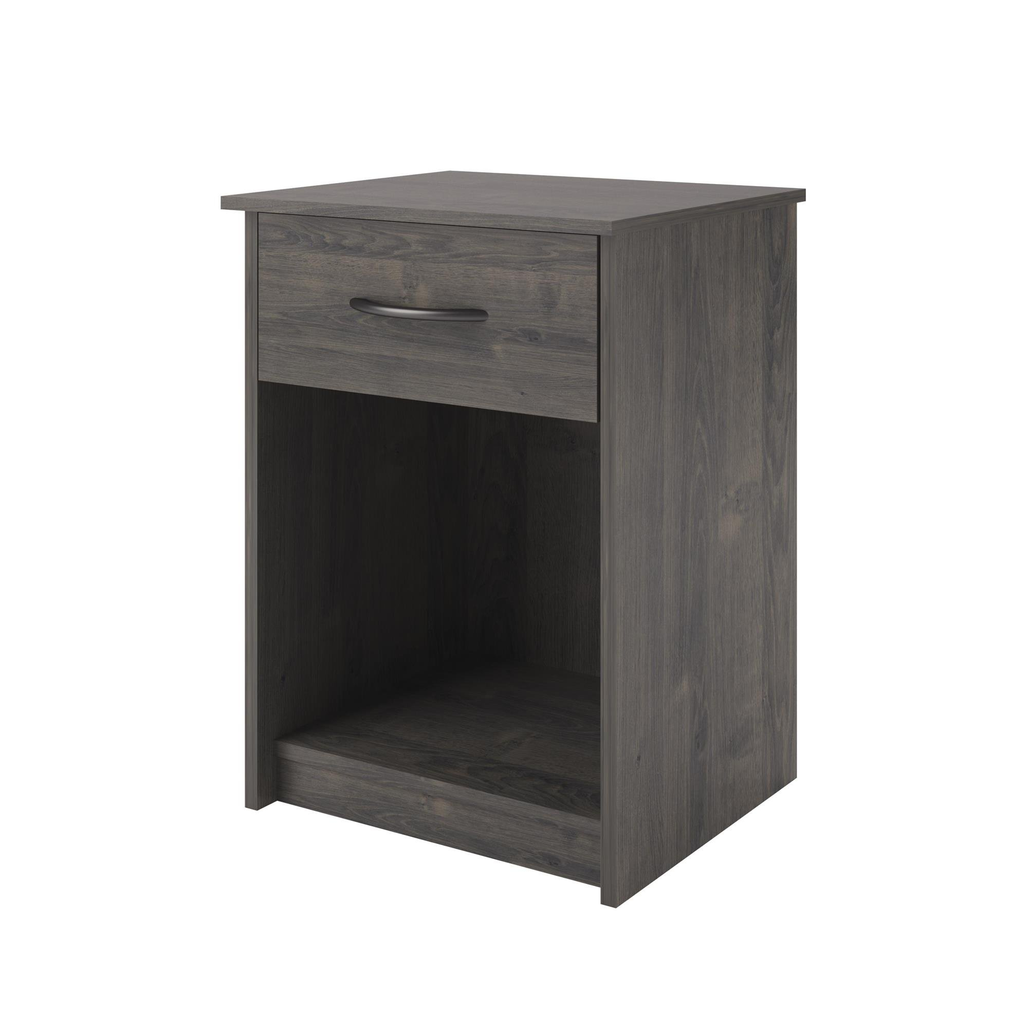 Ameriwood Home Core Night Stand, Dark Gray Oak
