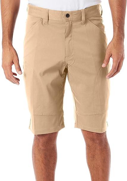 Hawke /& Co Mens Ripstop Casual Cargo Shorts ltkhaki 36
