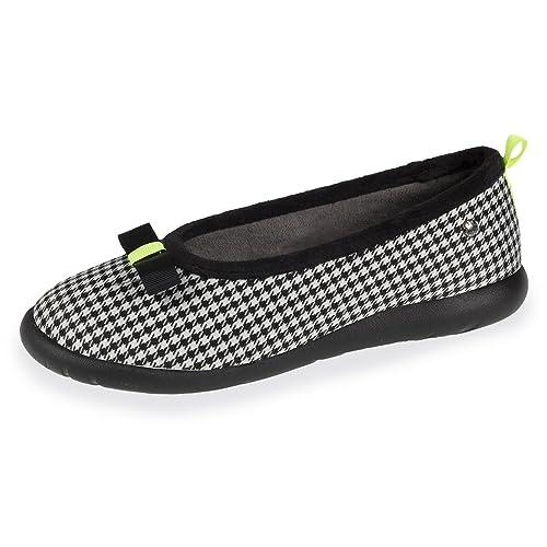 Isotoner Zapatillas Mujer Bailarinas Estampado Ultra Lége: Amazon.es: Zapatos y complementos