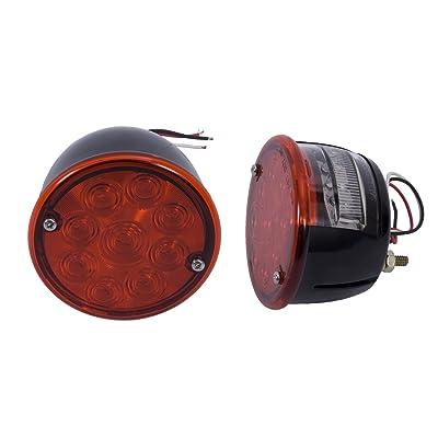 Rugged Ridge 12403.84 LED Tail Light - Pair: Automotive
