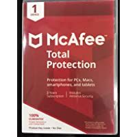 McAfee Total Protection 2020 1 Device 3 YEARS, ACTIVATION CODE LICENSE, NO DISC