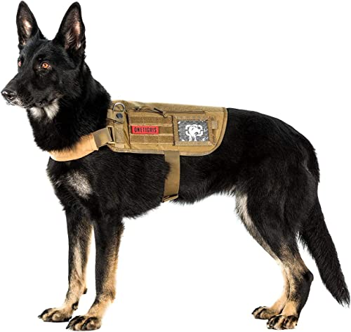 OneTigris Apollo 09 Tactical Dog Harness, Medium