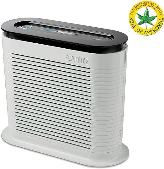 HoMedics AR-10 Ventilador purificador, Mantiene Fresco, Protege del Aire infectado por alergias, 38 W, blanco: Amazon.es: Hogar