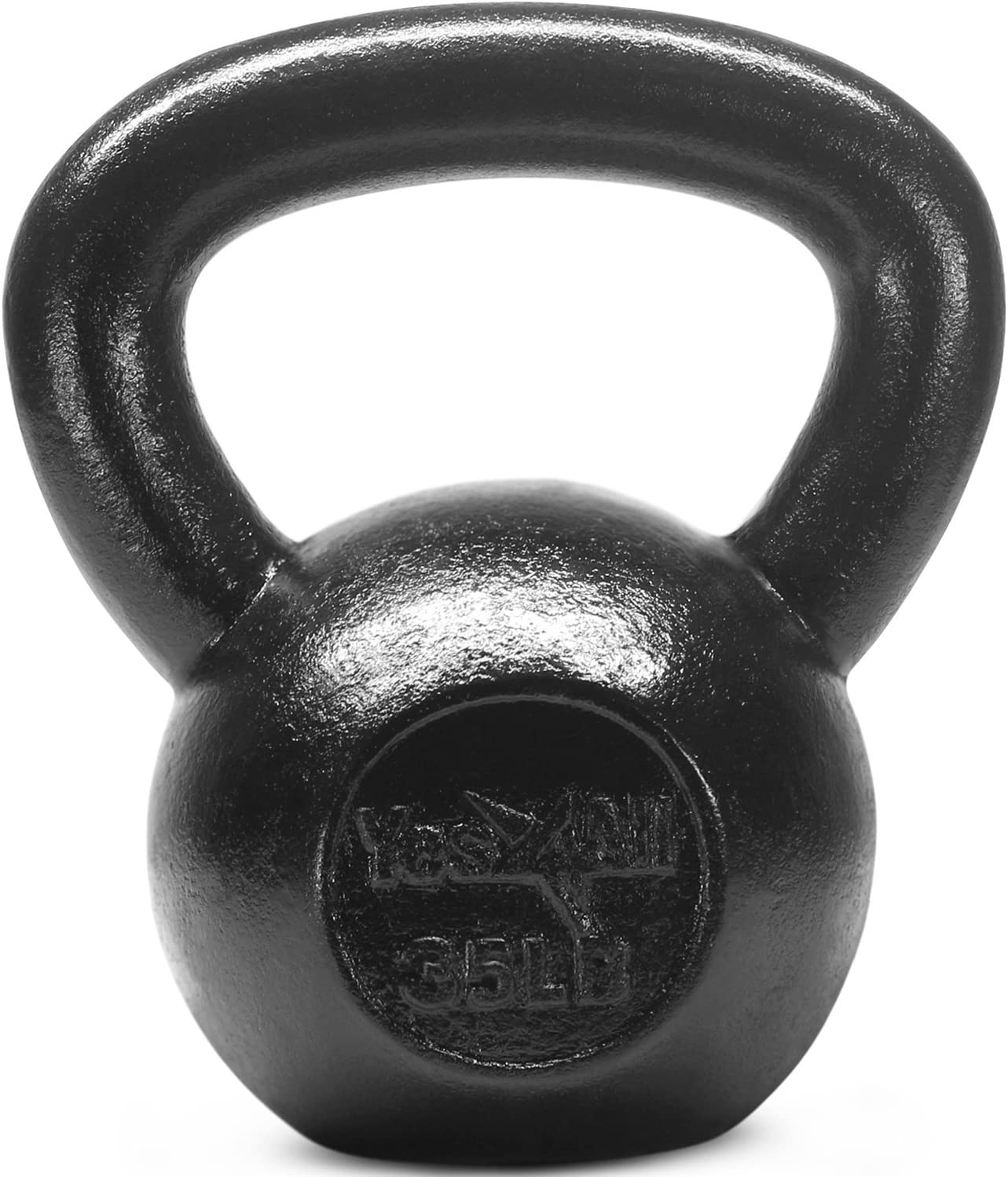 Yes4All Solid Cast Iron Kettlebell Weights – Great for Full Body Workout and Strength Training