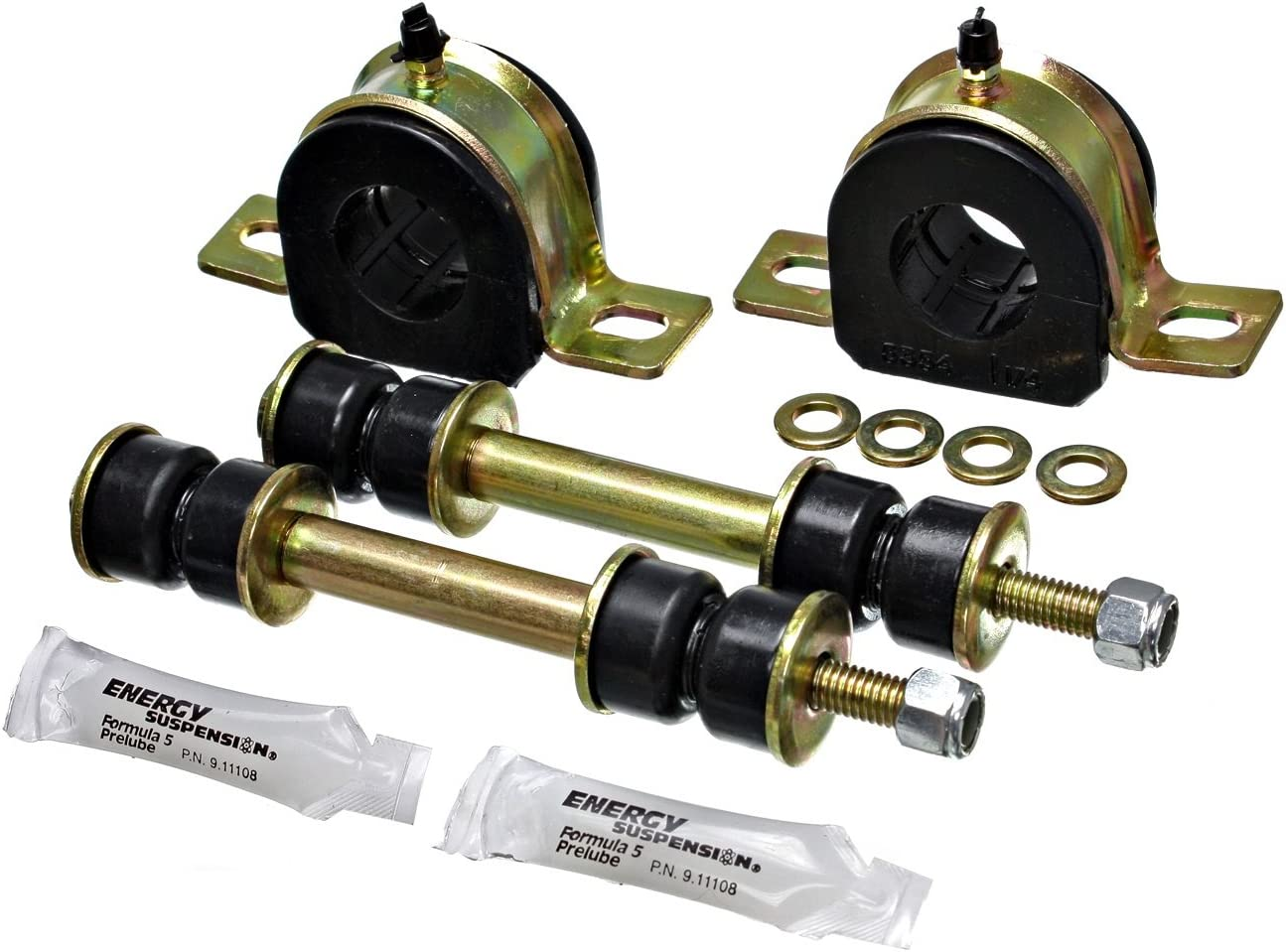 Energy Suspension 3.5178G 1-1//4 GM GREASEABLE SWAY BAR SET