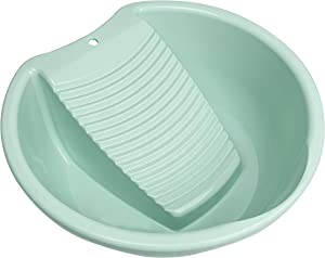 Washboard Washing Clothes Hand Wash Board - Bucket, Basin for Laundry