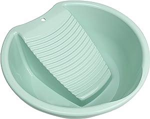 Washboard Washing Clothes Hand Wash Board - Bucket, Basin for Laundry