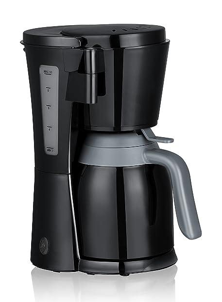 Butler Thermo Kaffeemaschine Mit Isolierkanne / Thermoskanne Mit  Glaseinsatz Schwarz 16001852