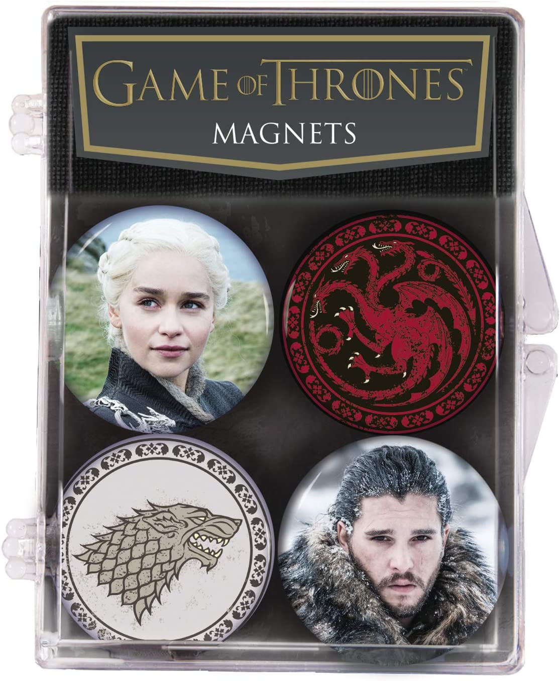 Dark Horse Deluxe Game of Thrones Magnet 4 Pack, Multicolor
