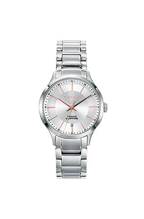 528c14045f80 Viceroy Reloj Analogico para Mujer de Cuarzo con Correa en Titanio  471132-07  Amazon.es  Relojes
