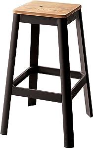 "ACME Furniture 72332 Jacotte Bar Stool, 30"", Black"