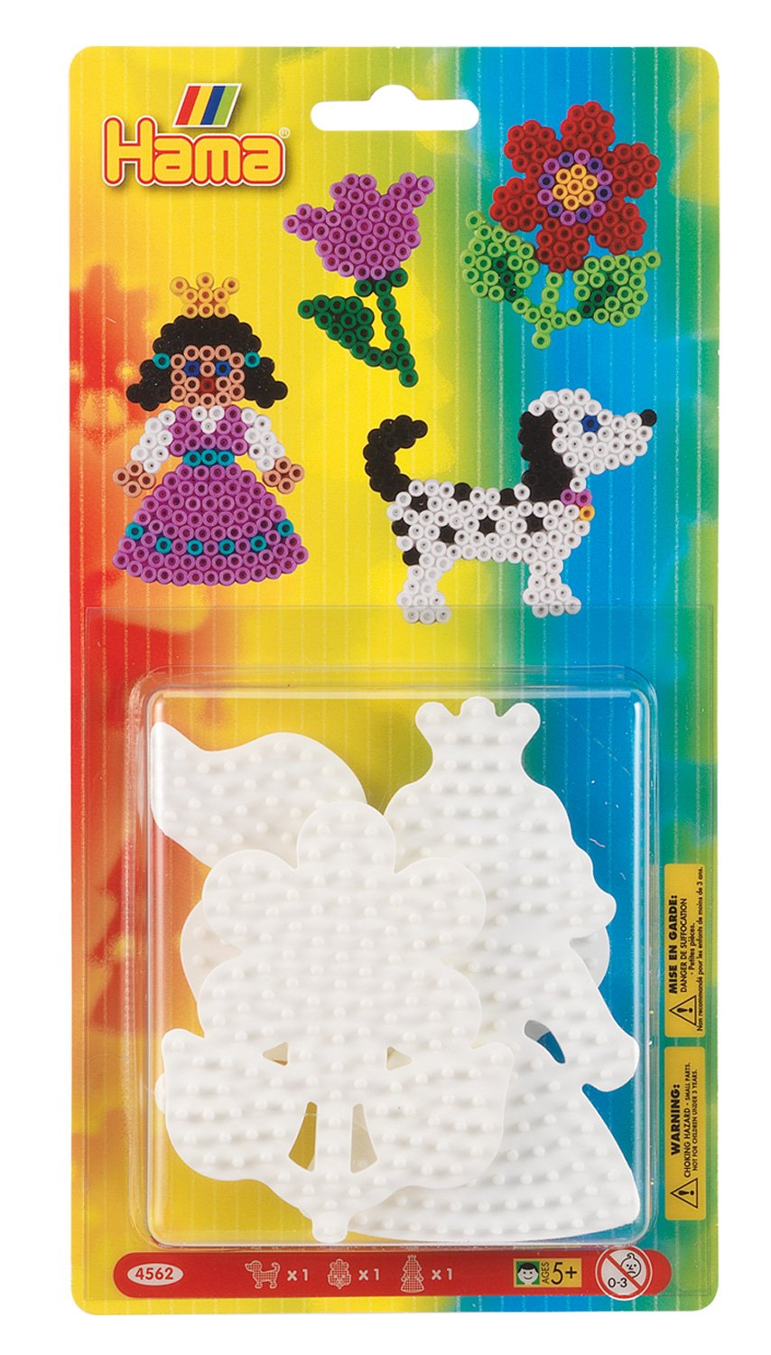 Flower and Princess Hama 4562/Pen Board Small Assorted Dog