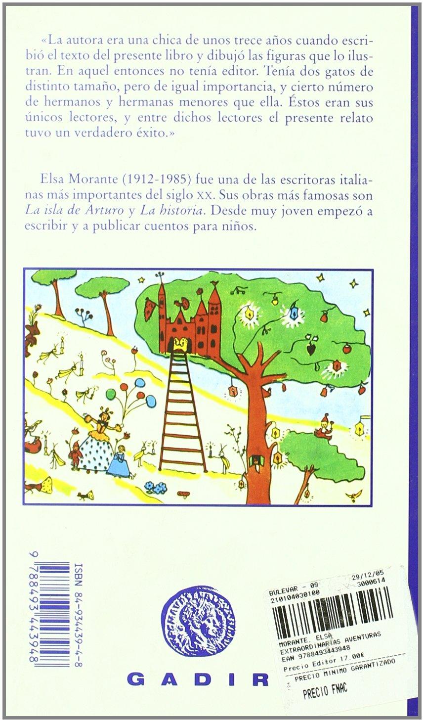 Las extraordinarias aventuras de Caterina (Spanish Edition): Elsa Morante: 9788493443948: Amazon.com: Books