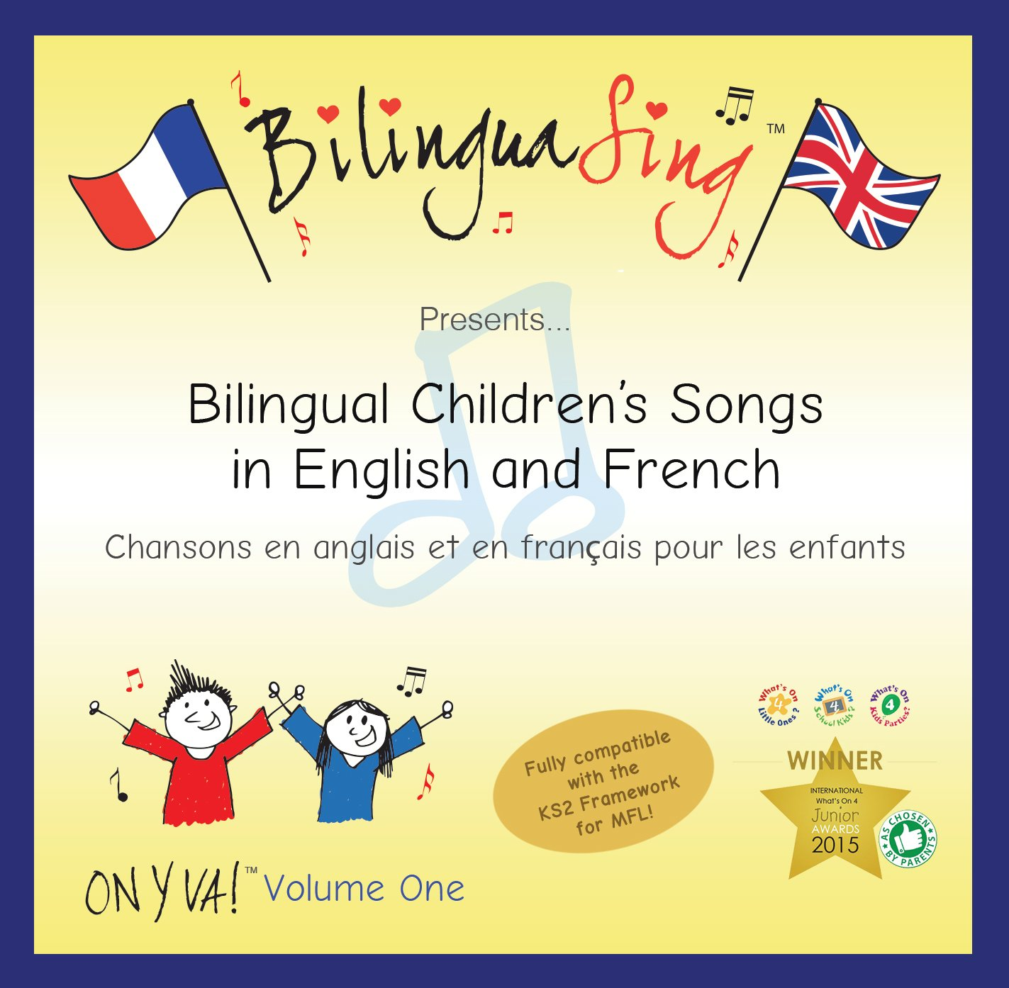 No 1 French Songs CD for Kids | LEARN Numbers Dates Animals