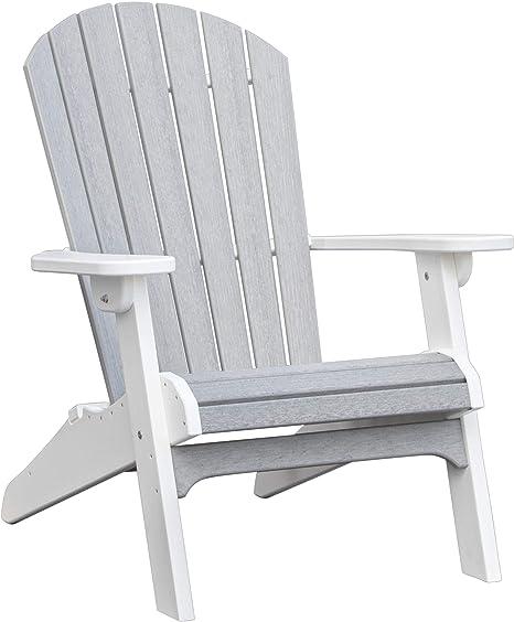 Amazon.com: Daybreak Poly Furniture #701 - Silla plegable Adirondack:  Jardín y Exteriores