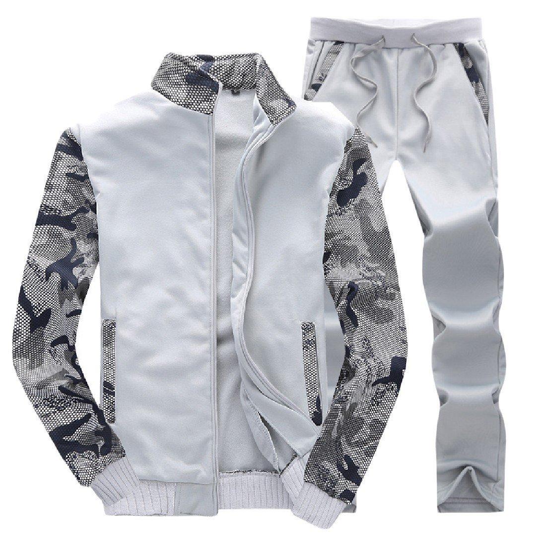 Andopa Camuflaje chaqueta de punto oversize conjunto chaquetas de ...