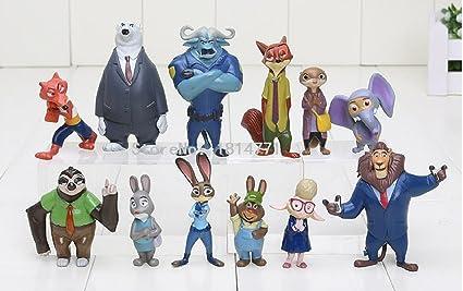 buy free shipping 12pcs lot 4 7cm new movie zootopia cartoon utopia