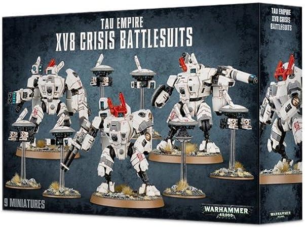 Games Workshop 56-07 XV8 Crisis Battlesuit Team