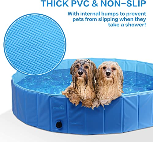 Pecute-Dog-Pool-PVC-Outdoor-Pool-Bathing-Tub-Portable-Pet-Playing-Pool-for-Dogs-Cats
