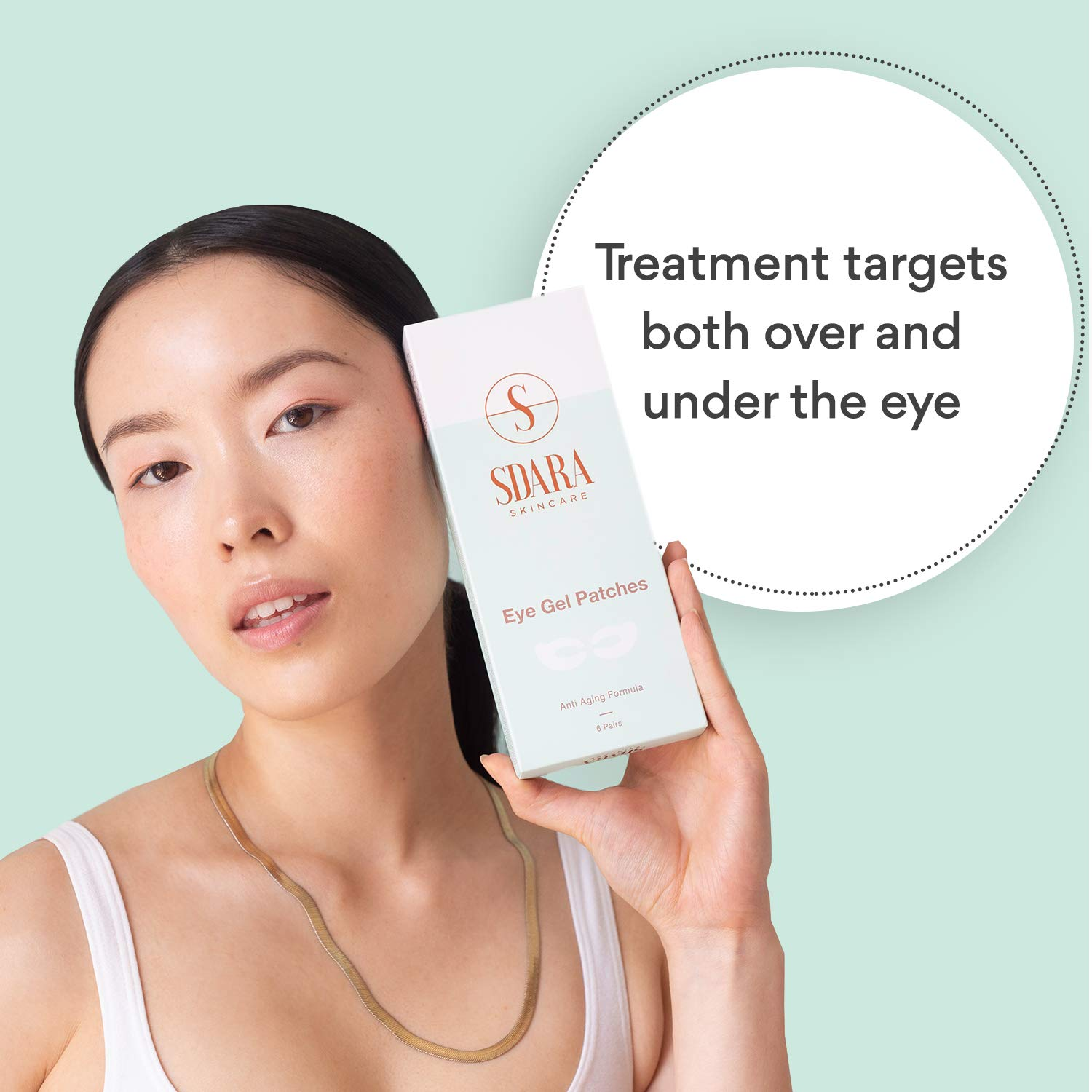 Each facial skin area has its own characteristics and needs a different care regimen